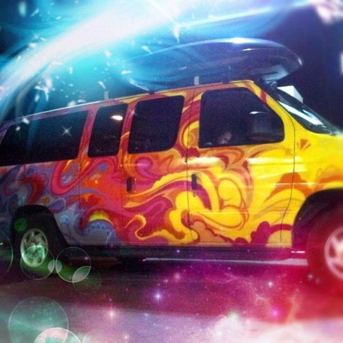 Getting celestial with Escape Campervans #escapevan #chalkla #snowlizard @neffrodite @pram1111 @amy_cherie (Taken with Instagram at Space)
