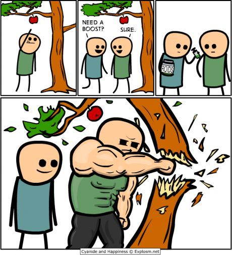 I love Cyanide and Happiness.