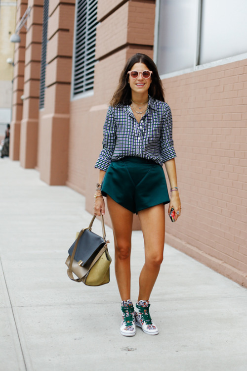 what-do-i-wear:  NYFW SS13 Street Style // Leandra Medine (image: all-theprettybirds)