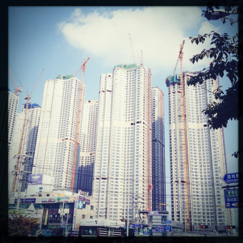'If you build it, they will come' - The motto for apartment builders in Seoul and around the world.