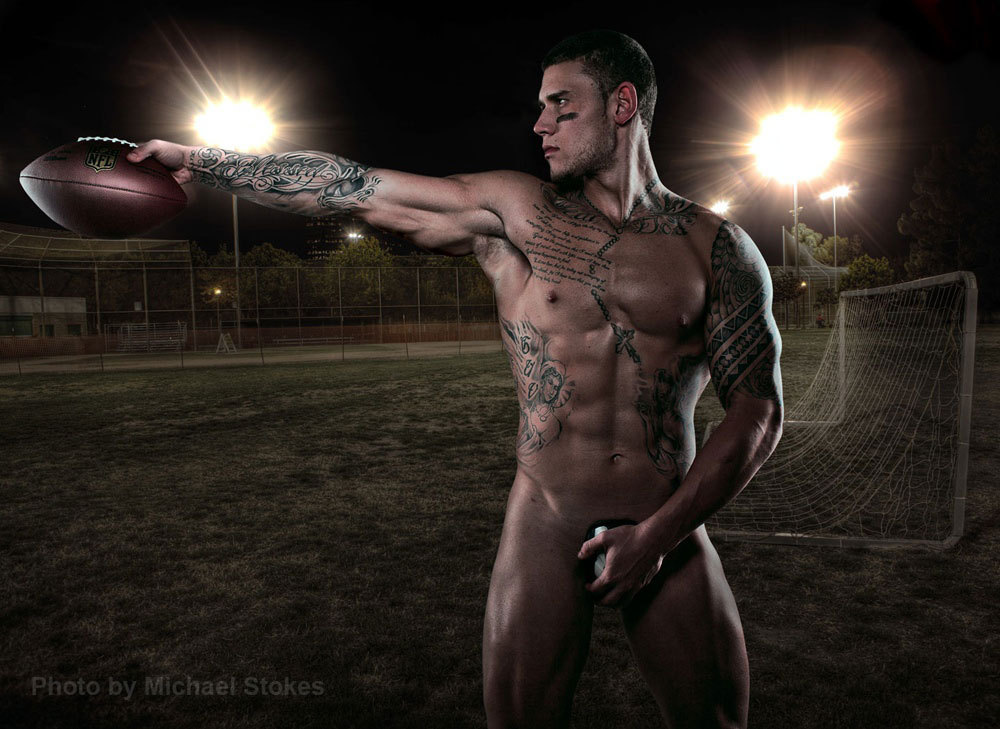 Tasteful Men:Vince Ramos By Michael StokesAnd that's why football is hot…    Hmph!!