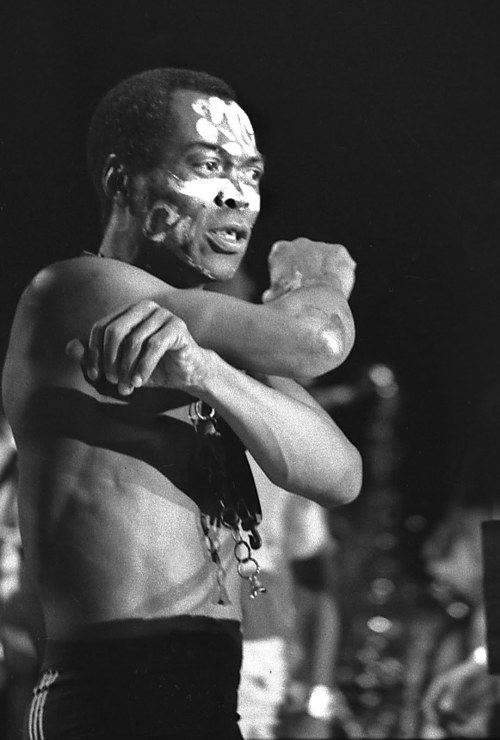 i12bent:  Fela Kuti - Nigerian singer, composer and musician: Oct. 15, 1938 — 1997…   Happy birthday Fela!!!!! Gonna re-read your biography tonight!