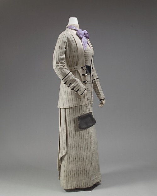 omgthatdress:  Suit 1911-1913 The Metropolitan Museum of Art