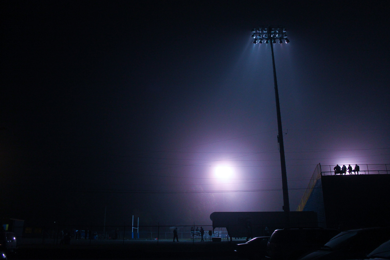 Fans, fog, and Friday night lights.