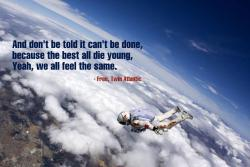 Mission Success! Felix Baumgartner makes historical jump.