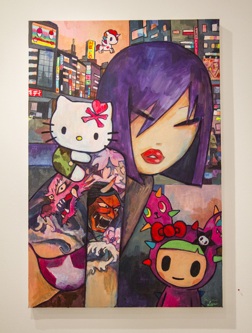 Simone Legno for Hello Kitty, Hello Art at Known Gallery