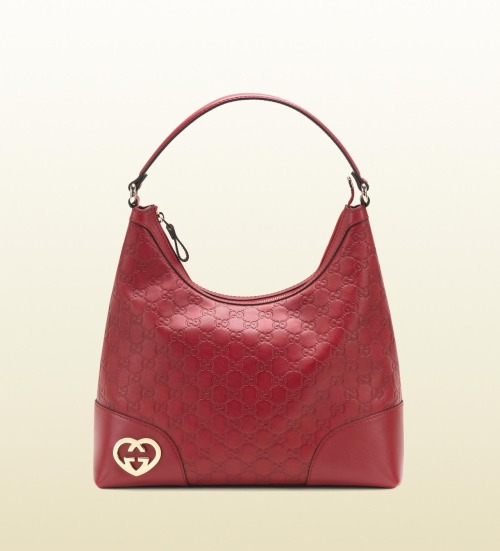 gucci lovely guccissima leather hobo