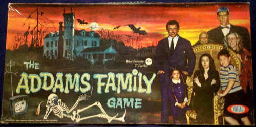 cryptofwrestling:  The Addams Family Board Game (1964)