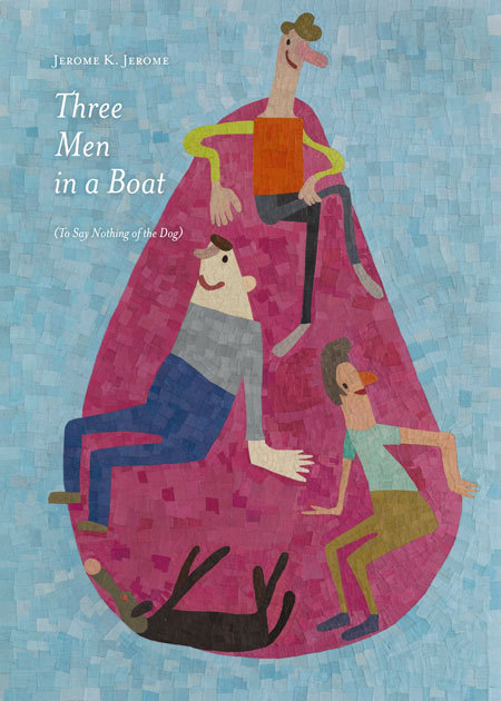 (via Three Men in a Boat by Jerome K. Jerome) doedemee, 100 book covers to fight illiteracy