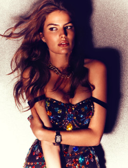German Vogue - June 2012 - Cameron Russell