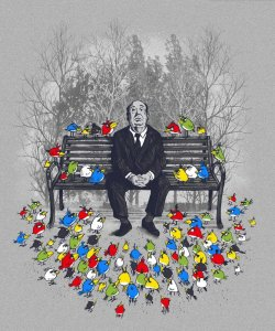 Hitchcock/Angry Birds Mash-Up by Dan Eijah Fajardo and Pedro Kramer/