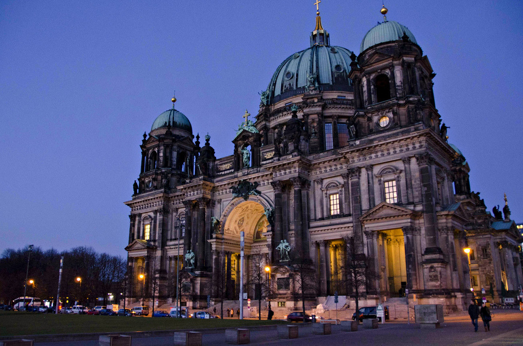 allthingseurope:  Berlin Cathedral (by Gies!)  #I don't know if Brynn remembers that first time we hung out and how we sat in front of the Cathedral and watched that couple have that ri… #diculous photoshoot. #one of my fondest memories - that entire day really #I always think of that couple whenever I go to the Cathedral or think about it. #And I also remember how you told me it was modeled after St Peter's in Vatican City but that's it's a gothic version of it. #OH TRAVEL FRIEND #HOW WE HAVE NOW BECOME DENVER FRIENDS #I like that there are multiple versions of our friendship though. #Love you boo. #I don't know when a photo of Berlin turned into a love letter to Brynn.