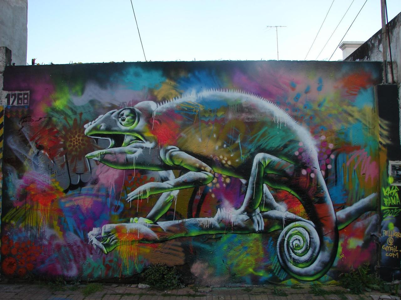 Just awesome! New wall by Argentina's Kase (www.facebook.com/pages/Emmanuel-Pellegrino-KASE-/128978737202839); photo came via RASA.