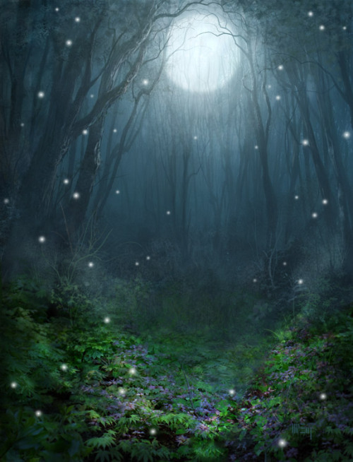 ofthefaeries:  Magical Forest by ~PatrickMcEvoy