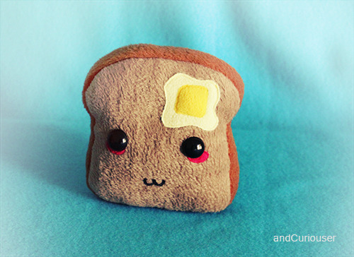 Buttered Toast by ~andCuriouser on deviantART