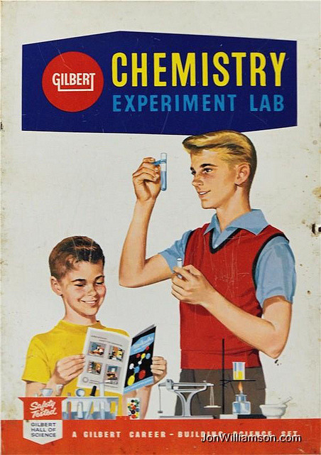 This is going to end well. vintascope:  Gilbert Chemistry Lab on Flickr.  Facebook | Flickr | Tumblr | Twitter
