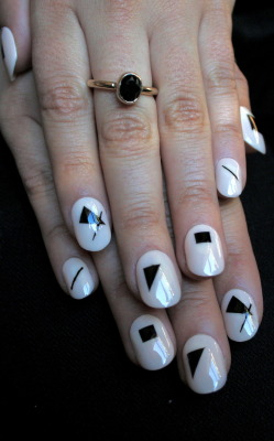 Katja Strunz inspired nails. xx ManicMonday juliannemonday.com