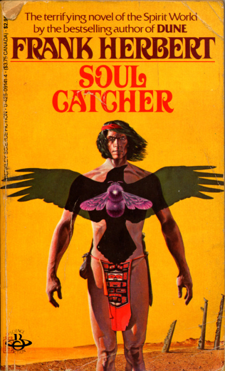Soul Catcher by Frank Herbert • Berkeley Books, 1985