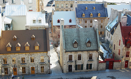 lost—in—memories:  Quebec City by looseends on Flickr.