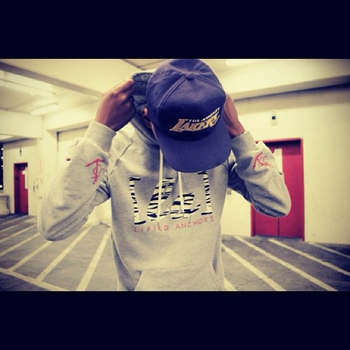 jordywiz:  #lakers #swag #photograpy #panoramic #stile #boy #cap #creatic (Tomada con Instagram)