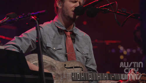 Bon Iver's episode of Austin City Limits aired this weekend. You can also watch a behind the scenes of the episode:(via Watch Bon Iver on Austin City Limits)