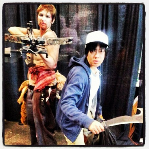 not-on-any-flatbread:  Yep, we're badasses. #nycc (Taken with Instagram)
