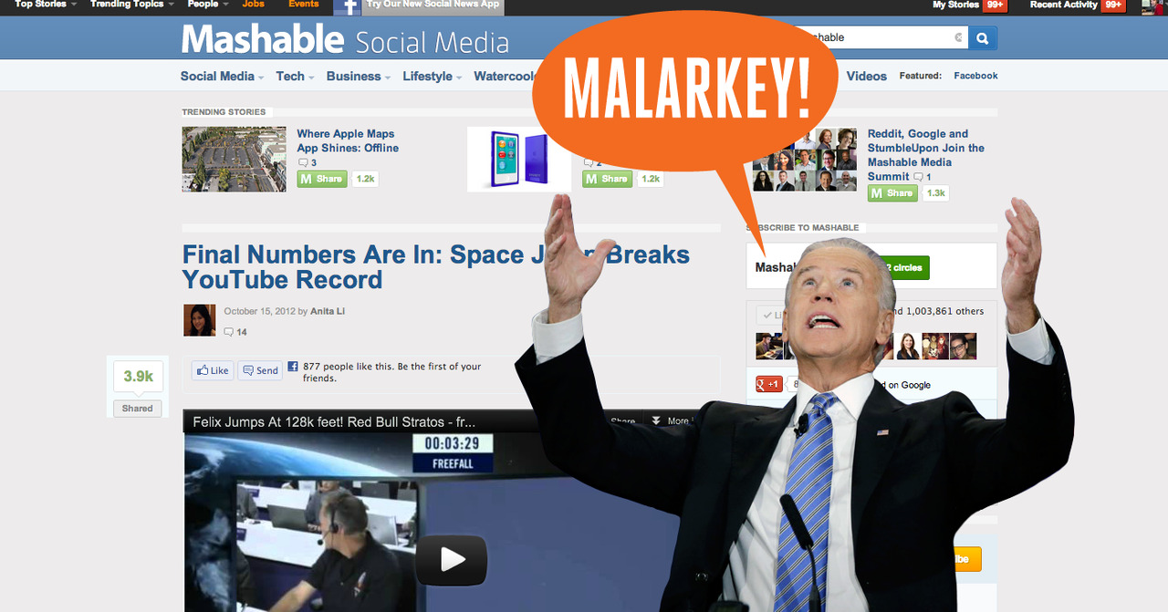 Joe Biden thinks #SpaceJump was total malarkey. (Make your own on Upworthy)