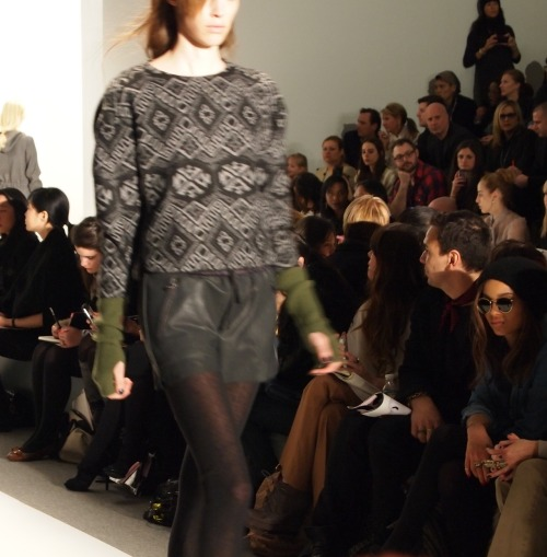 Hip Girl Sweater to the Weather. Rebecca Taylor Fall 2012.