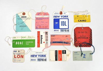 Vintage Airline Tags, photography by Lisa Congdon.  starting at $24 on 20x200