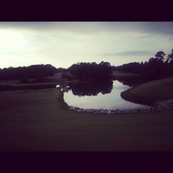 Good morning! #golf 🌞 (Taken with Instagram)