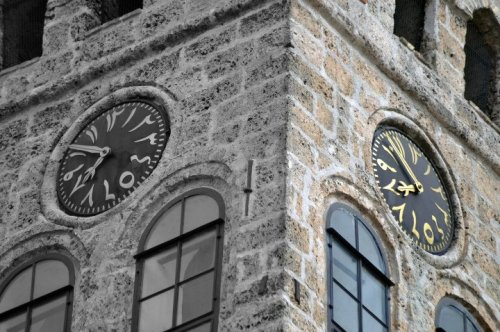 onenefes:  Sarajevo clock tower (Bosnia and Herzegovina) is the only public lunar clock in the world.