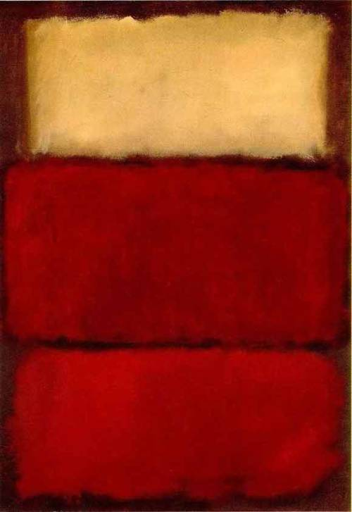 art-and-fury:  Red (Three) - Mark Rothko
