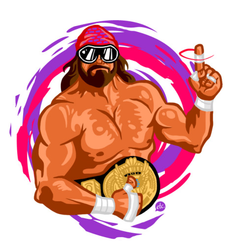 jonnyetc:  The late great Macho Man Randy Savage. Take 2.