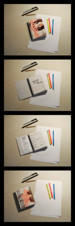 AGENDA 2012/2013 handmade artwork!