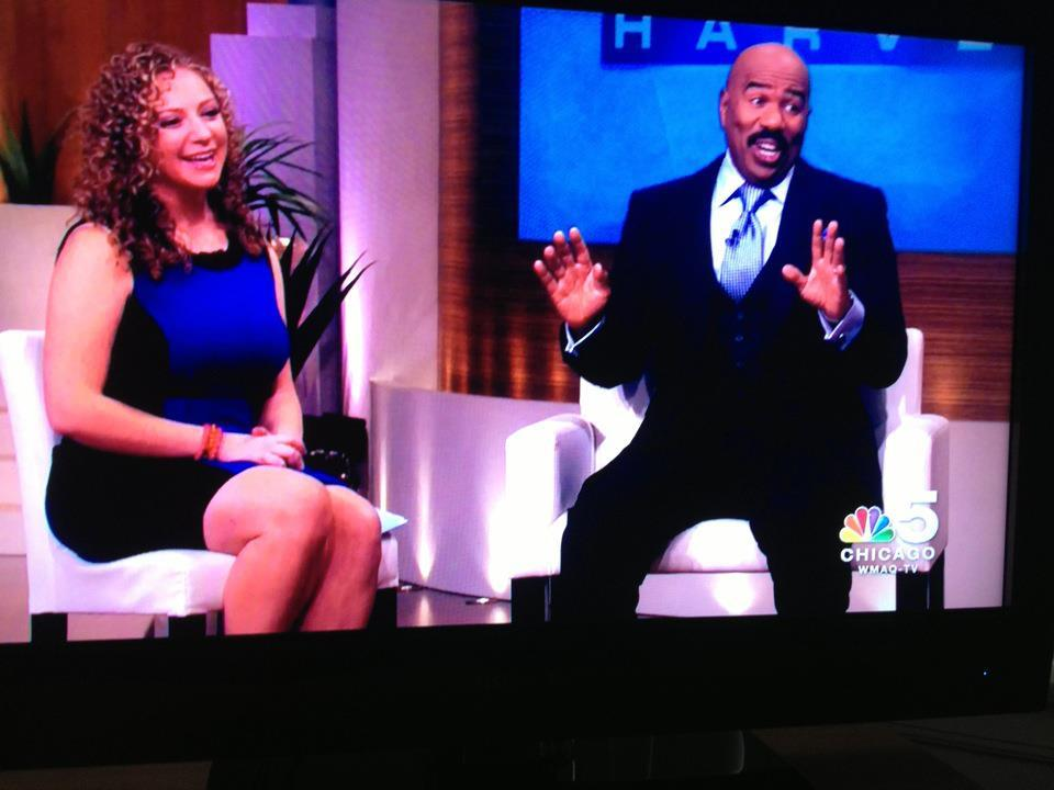 Today! Monday, October 15th at 2pm on NBC. I'll be on the Steve Harvey show. It'll be fun, tune in!!