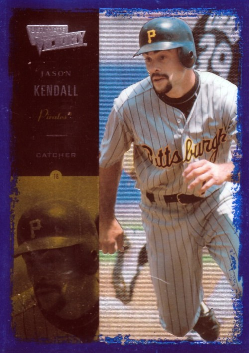 Random Baseball Card #1921: Jason Kendall, catcher, Pittsburgh Pirates, 2000, Victory.