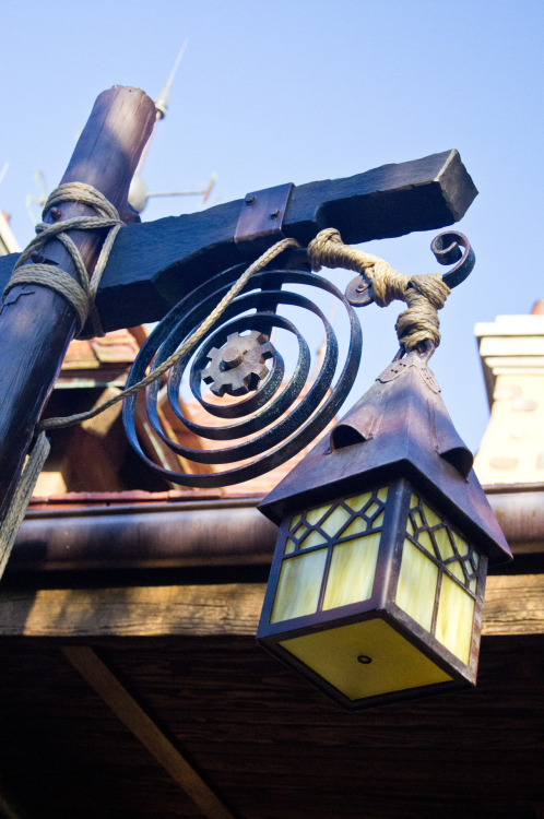 Light Fixture - Maurice's Cottage - Enchated Tales with Belle - New Fantasyland