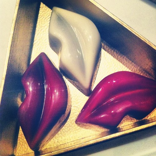 #kiss #chocolates by #makatishangrila #yummy  (Taken with Instagram)