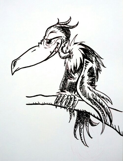 V is for Vlad Vlad-i-koff from Horton Hears a Who by Dr. Seuss art by Troy JensenJust a sketch version for time's sake.Full version will be on the blog later.