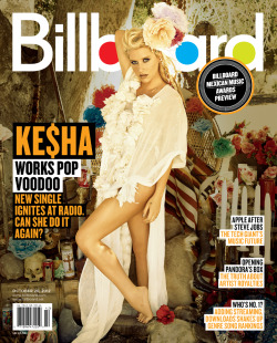 She's baaaaack! Check out everyone's favourite Animal, Ke$ha, on the cover of Billboard Magazine and click here for the story!