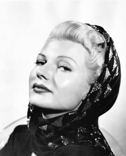 Rita Hayworth as Elsa Bannister in Orson Welles'  The Lady From Shanghai (1947).
