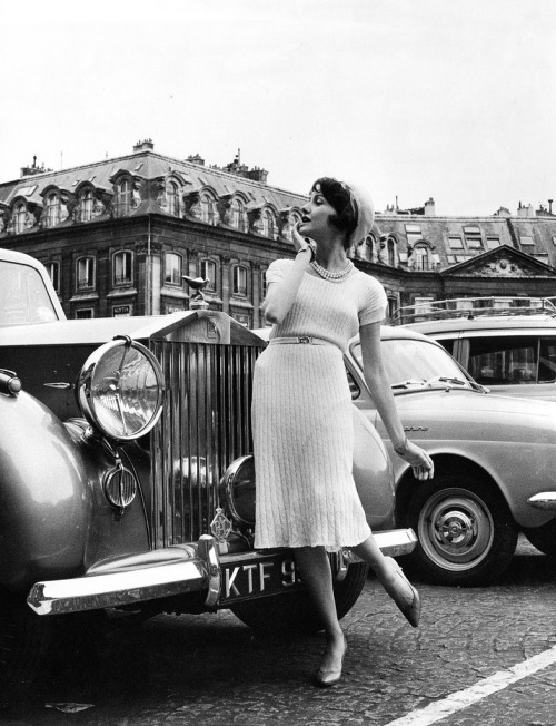 Paris 1960's (by myvintagevogue)