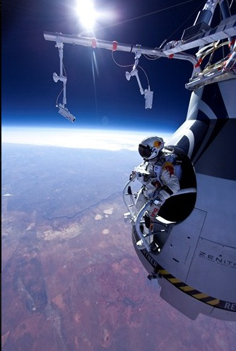 Felix Baumgartner made history on 10/14/2012