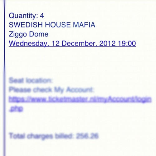 SWEDISH HOUSE MAFIA! Amsterdam here we come!!! #swedishhousemafia #shm #amsterdam (Taken with Instagram)