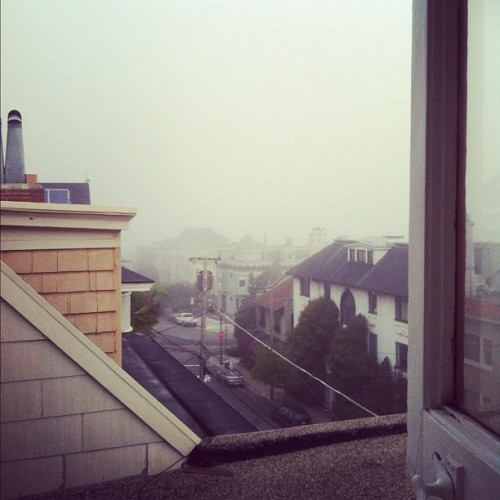 "Wishing ""fog"" was a viable excuse to not go to work on a Monday…"
