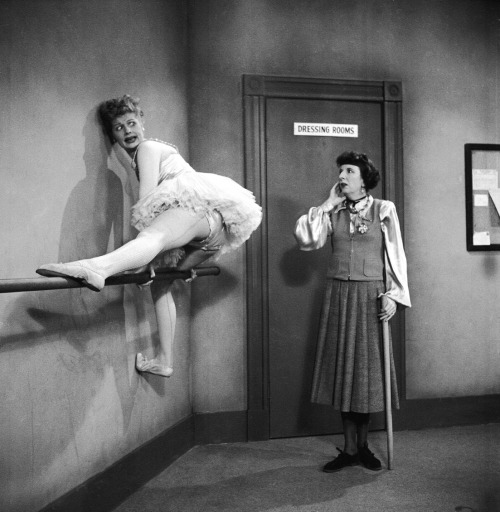 "shil0h:  npr:  life:  On this day in 1961, I Love Lucy made its debut. Weigh in: What was your favorite episode of the classic TV show?  The one where Lucy and Ethel get into some hijinks and Ricky yells, ""Lucy, you got some 'splainin' to do!"" and Lucy bites her nails, then stares into the camera and cries. That one. — tanya b  Attention: Hayley!  How'm I supposed to decide?! I really do love Lucy a lot."