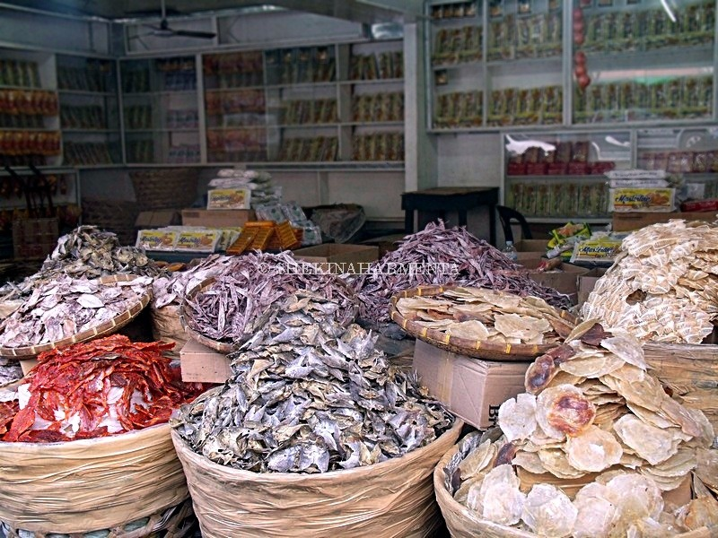 (c) Dried seafood