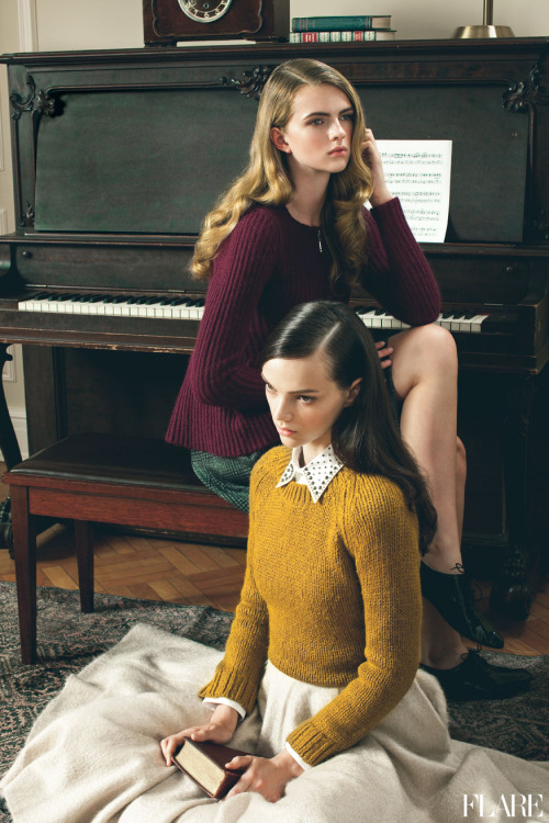 flarefashion:  Ivy League - November 2012 / Beauty Director: Carlene Higgins / Assistant Art Director: Jessica Hotson / Photographer: Andrew Soule  Fresh off the runway beauty ideas to try now!