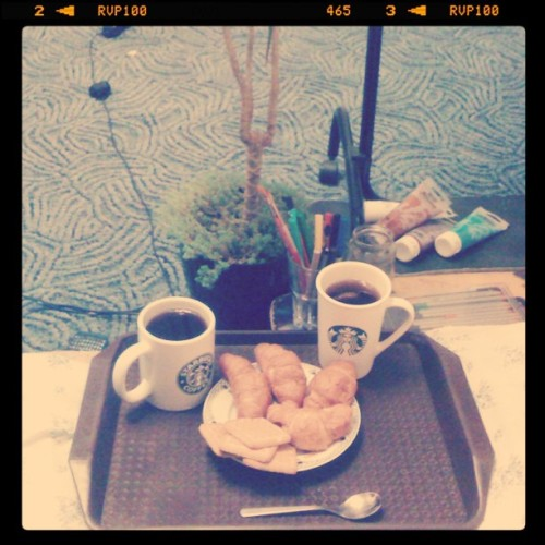#croisant #sturbucks #room #aroma (Taken with Instagram)