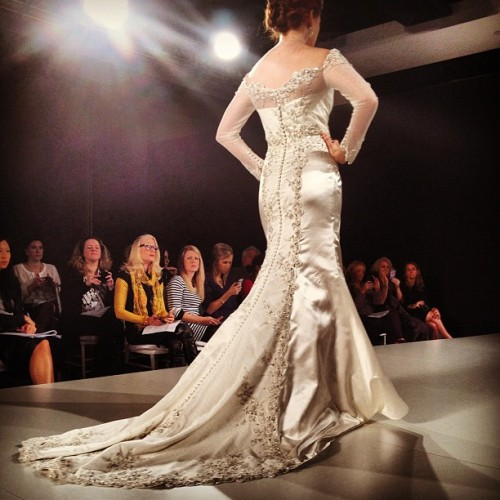 Breathless at #MatthewChristopher #bridalmarket (Taken with Instagram)